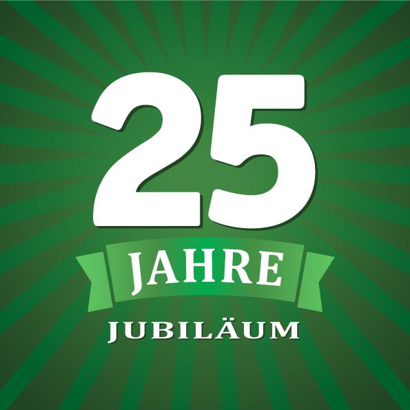 25 jähriges Jubilä Grafik