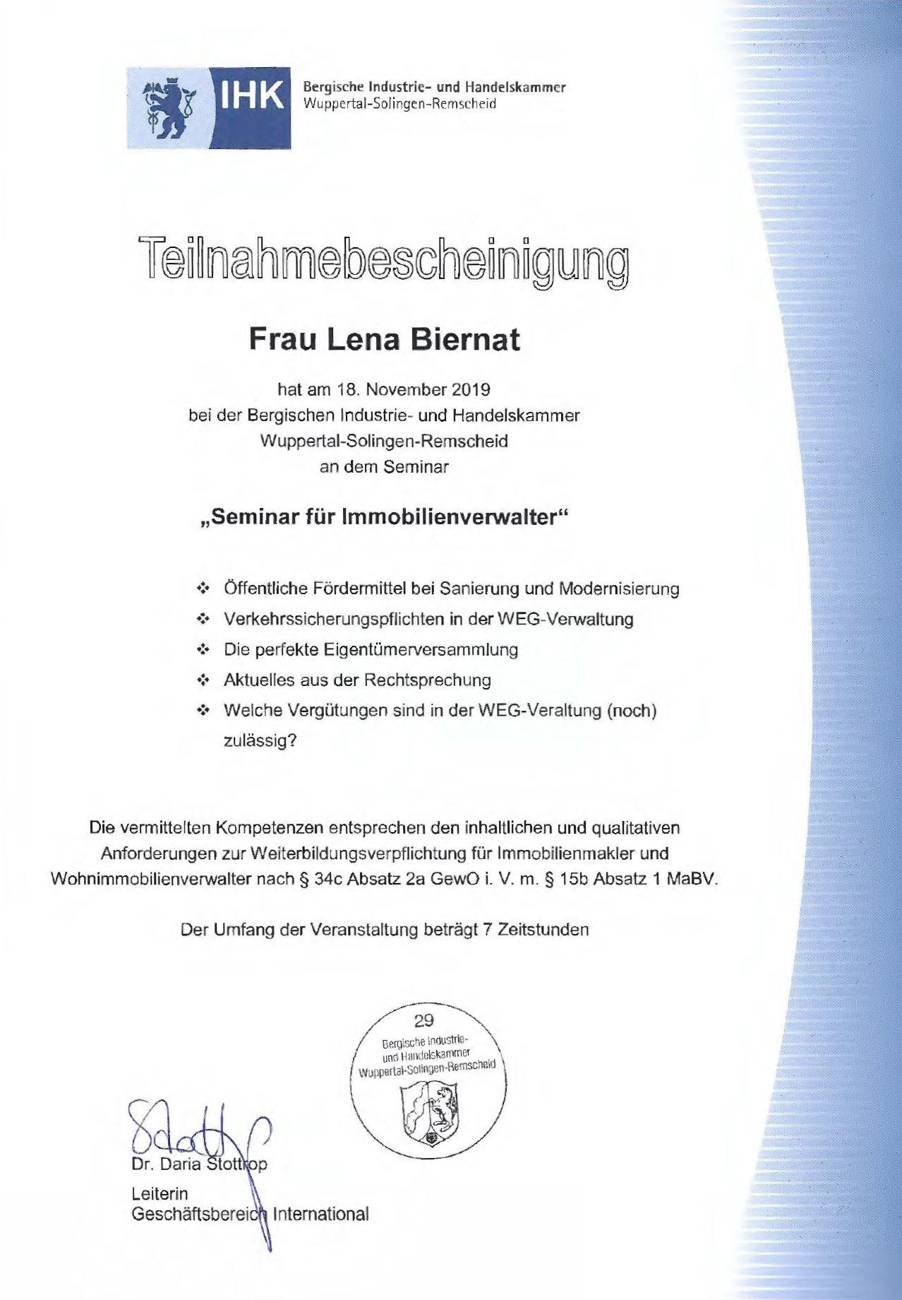 ihk_immobilienverwalter_urkunde_lena_biernat